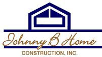 Johnny B Home Construction Logo